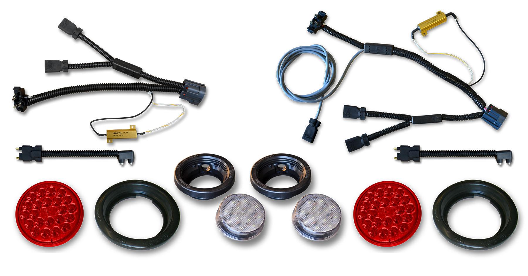 1997 jeep tj brake switch wiring poison spyder jk led tail   reverse lights   wiring harness kit  reverse lights   wiring harness kit